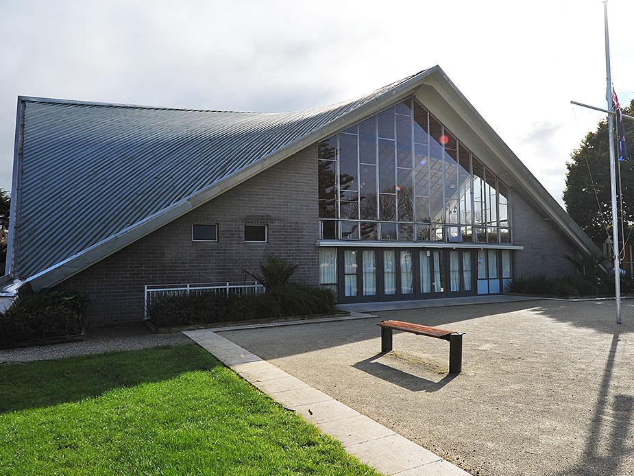 Mt Albert War Memorial Hall Exterior