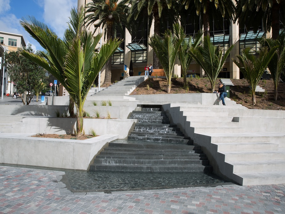 Freyberg Place - water feature