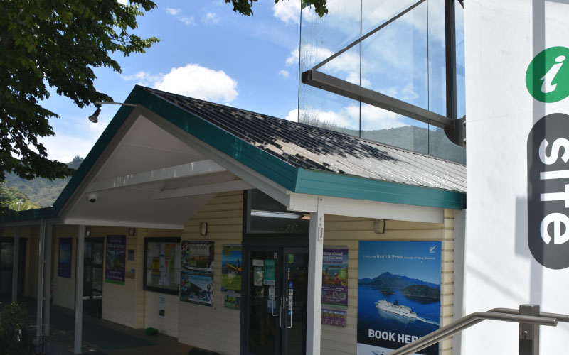 Picton iSITE Visitor Centre.